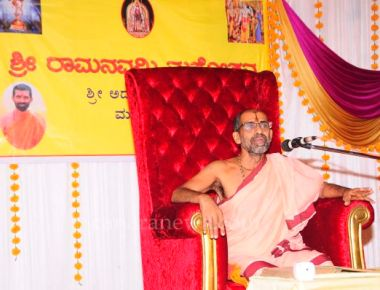 Preliminary arrangements for Ram Navami at Admaru Mutt