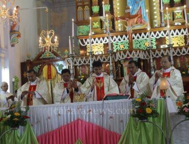 88th Death Anniversary of Ven. Fr. Agnelo observed at Milagres Cathedral with devotion & Fervor