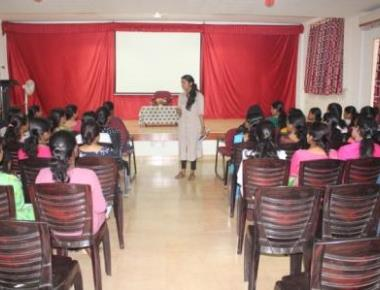 """SESSION ON """"CAREER OPTIONS AND PROSPECTS AFTER M.SC. CHEMISTRY"""""""