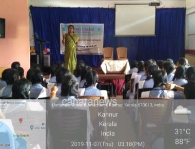 Career guidance programme at plus two colleges in Kannur by St. Agnes College