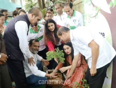 Clara's College of Commerce vibrantaly concludes 'Plantation and Environment Rally'