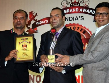 India's No. 1 Brand Awards at Leela Hotel organised by Hemant Kaushik,CEO IBC Infomedia,USA.
