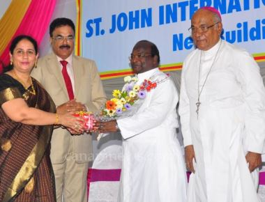 Palghar: Inauguration of St John International School  Building of Adel Educational Institution