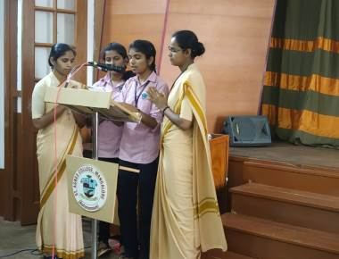 Skill Development programme held at St Agnes College