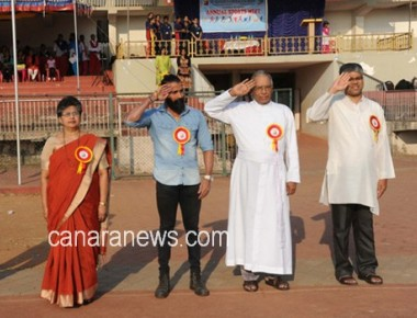 St Aloysius Gonzaga School holds annual sports meet