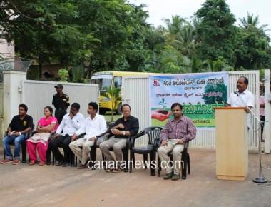 Vanamahotsava held at St. Aloysius institute of management and Information technology