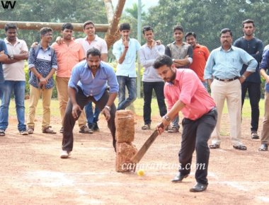 Spectacle of rural folk games at