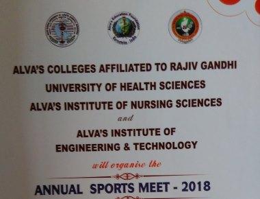Annual Sports Meet At Alva's