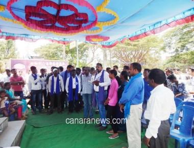 Closing ceremony of Jai Bhim Maha rally held