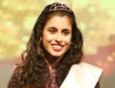 Apoorva V.Nayak Honoured with 'Perfect Miss India-2015'