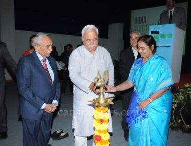India Electronics Week 2016, inaugurated at BIEC