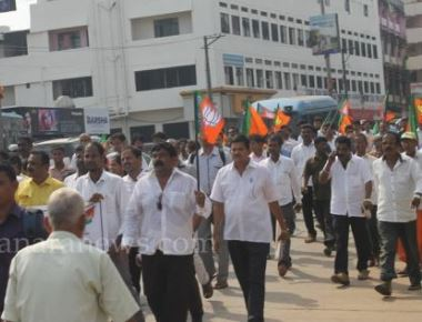 State BJP condemns killing of party activist