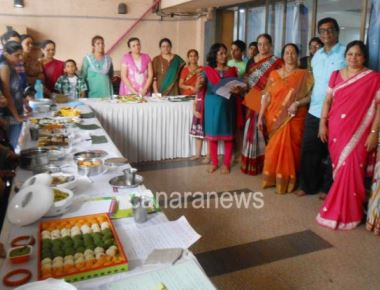 The Cookery Competition –'Special Dishes of Dakshina Kannada' and the Rajyotsava Celebration was Organized by Gokula Women Wing