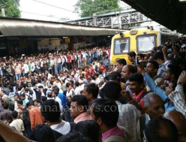 Delays For Mumbai As Angry Passengers Of Local Trains Occupied Tracks