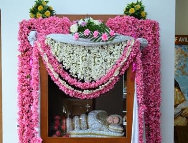 Monthi Fest celebration at Infant Mary Church, Bajjodi, Mangalore