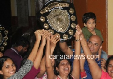 Konkani Natak Sabha - Inter-Parish Competitions; Bajjodi Parish bagged overall Championship