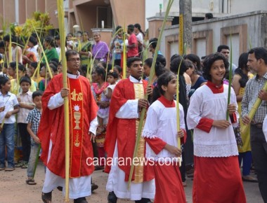 Palm Sunday Celebrate with devotion at Bajjodi