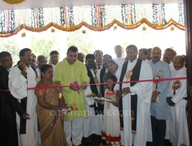 Basil Missionaries Memorial Auditorium inaugurated at Mission Compound Udupi