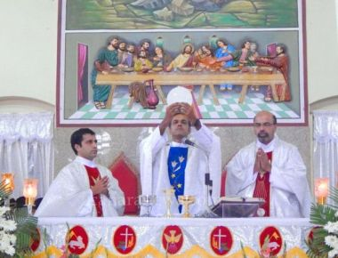 Celebration of Holy Rosary feast at Kundapur