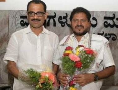 Bhaskar Moily elected Mangaluru Mayor