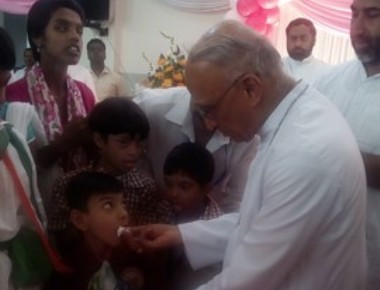 Archibishop's Birthday Celebration with the Differently Abled