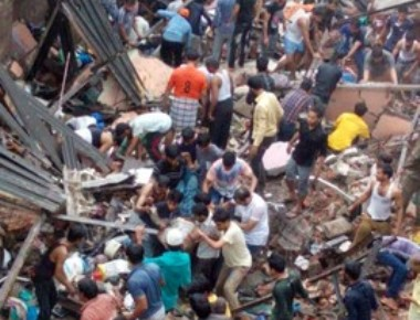 Nine killed in Bhiwandi building collapse