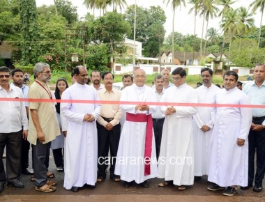 Official Visit of Bishop to St Philomena Educational Institutions Puttur