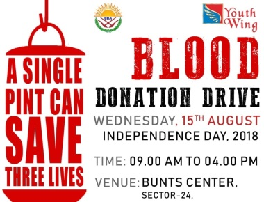 August 15: Blood Donation Drive oganised  by Bombay Bunts Association Youth Wing