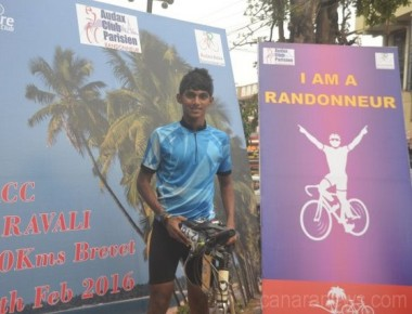 Ashwin D'Silva emerges winner at cycling event by MACC