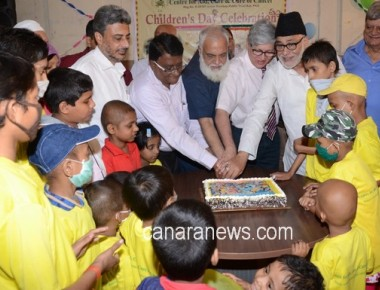 Centre for Aid care & cure of cancer NGO celebrates Children's day with Cancer Patient child