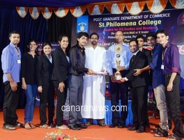 Canara College wins championship in Philo Ventura - 2015