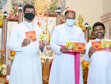 Devotional Kannada CDS Released in Alangar Church
