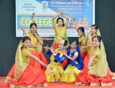 Annual Celebrations held at St Philomena College Puttur