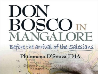 The book Don Bosco in Mangalore authored by Sr. Philomena released
