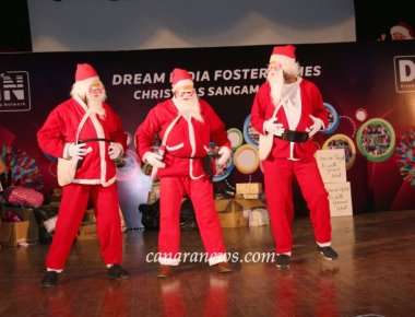 Dream India Network Celebrates Christmas for Children