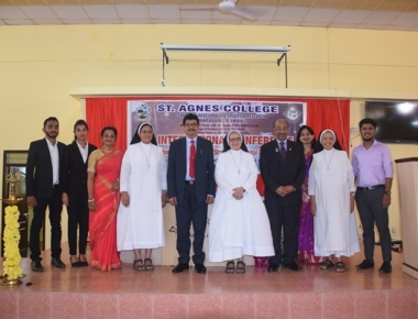 International Seminar held  at St Agnes college.
