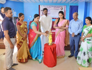 Spoken English Training Course inaugurated at PG Centre of SPC Puttur