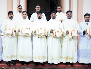 Bishop Peter Paul Saldanha Ordains 10 Deacons at St Joseph Church