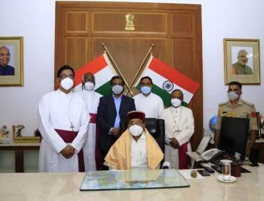 Christian Delegation Meets New Governor Of Karnataka
