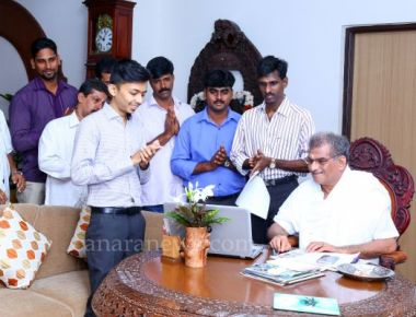 Online room booking facility launched in Dharmasthala