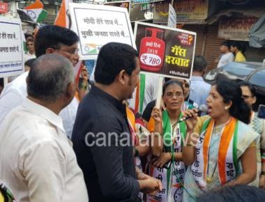 Bharat Bandh in Mumbai In Dindoshi area