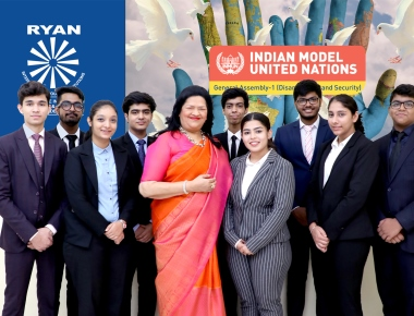 Ryan International Group of Schools hosts the Indian Model United Nations Conference 2019