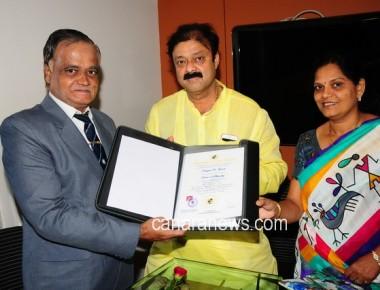 Esteemed Doctorate Degree to Narayana Gowda, The MLA