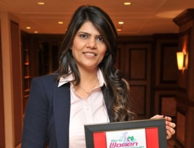 Dr Sunita Dube bags