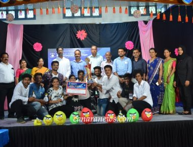 Mangalore University level Economics Fest 'ECOZENITH 2019' concluded at SPC Puttur