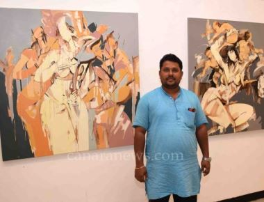 "Inauguration of ""Feminie Narratives"" an Art Exhibition from Wilson Kayyar at Jahangir Art Gallery"
