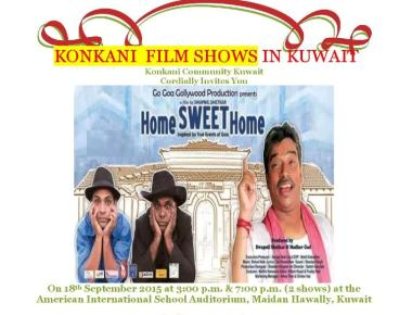 Home Sweet Home - at the American International School Auditorium  Kuwait