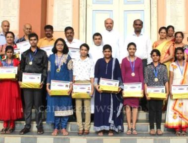 Felicitation to the talented students in the field of education