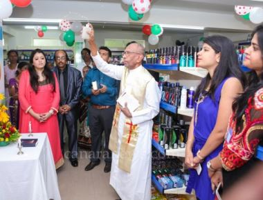 New Concept  'Fill My Basket' Supermarket Blessed by  Fr. Frank Opened in Mangalore