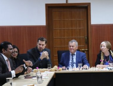 An Interactive Session with a Parliamentary Delegation from Bavaria, Germany